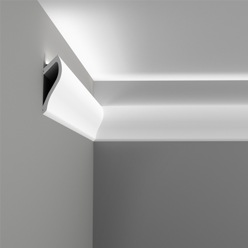 50 Indirect Lighting Design Ideas 2018: Cornice Porta Led In Polistirolo Per Pareti E Soffitti